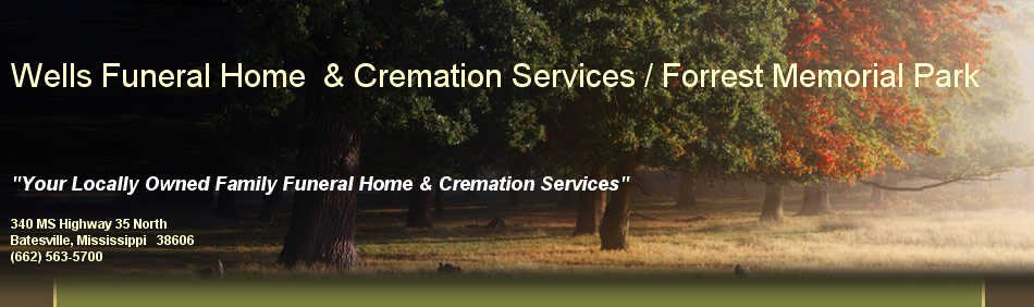 Wells Funeral Home  & Cremation Services / Forrest Memorial Park